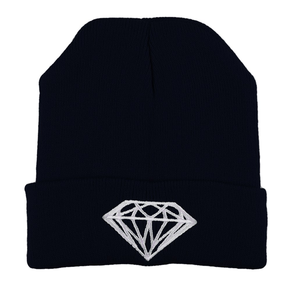 Fashion-Men-Women-039-s-New-DIAMOND-Hip-Hop-Cap-Beanies-Winter-Cotton-Knit-Wool-Hats