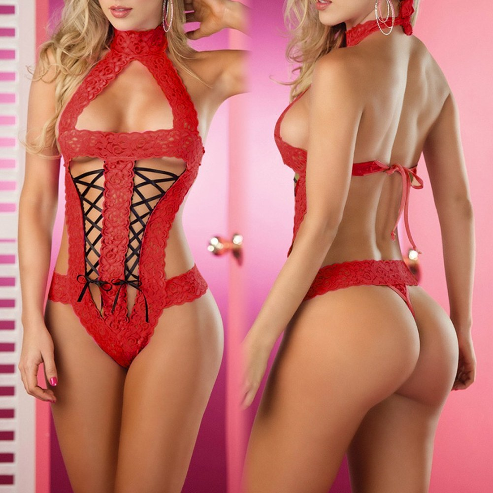Lingerie Sexy Mini Robe 51