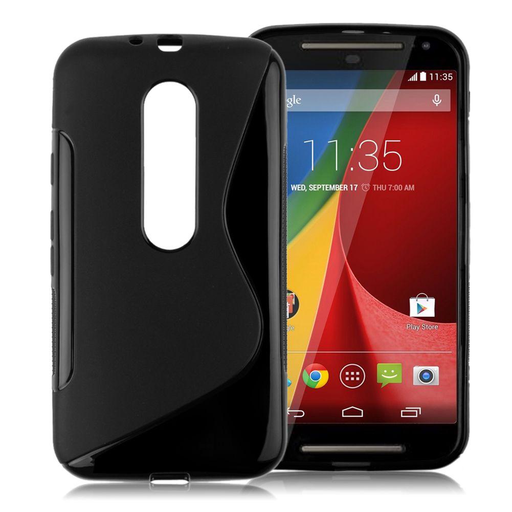 S-Line Soft Flexible TPU Gel Case Cover Skin For Motorola Moto G 3rd Gen G3 2015