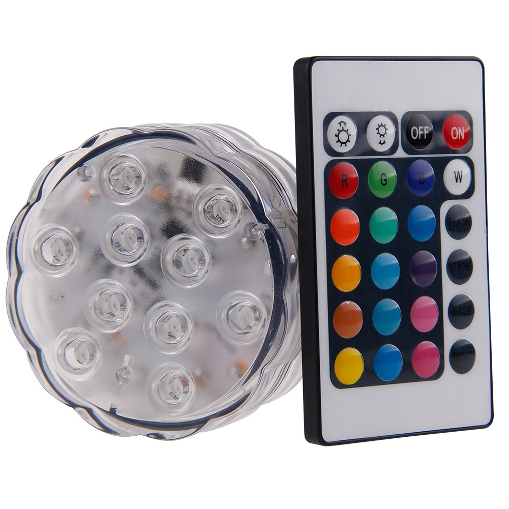 rgb led fernbedienung unterwasser lampe teichlampen aquarien aquarium leuchte ebay. Black Bedroom Furniture Sets. Home Design Ideas