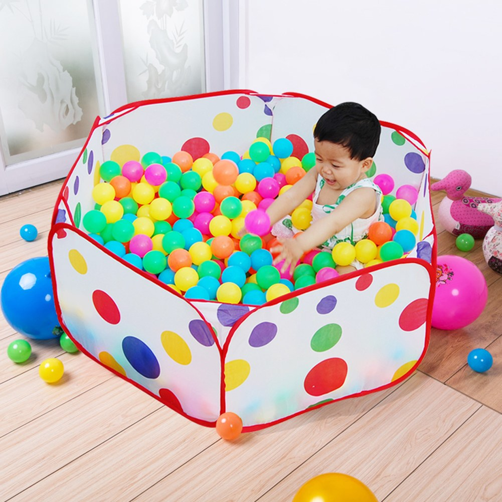 portable ocean ball pit pool outdoor or indoor kids game play children toy tent ebay. Black Bedroom Furniture Sets. Home Design Ideas