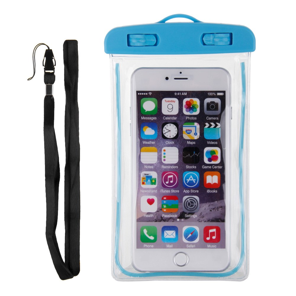 Noctilucous Waterproof Underwater Pouch Bag Pack Case Cover Skin For Cell Phones