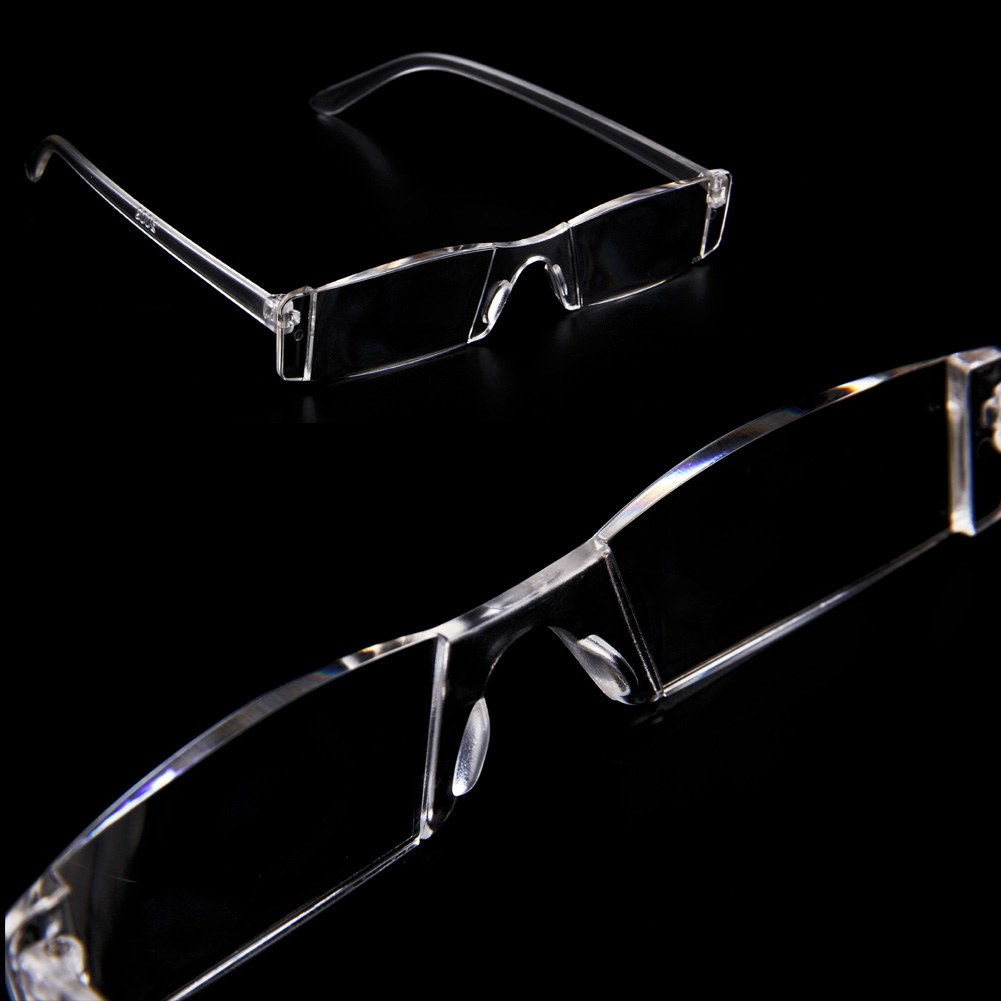 Rimless Glasses With Clear Bridge : New Presbyopia 1.00-4.00 Diopter Eyeglasses Clear Rimless ...