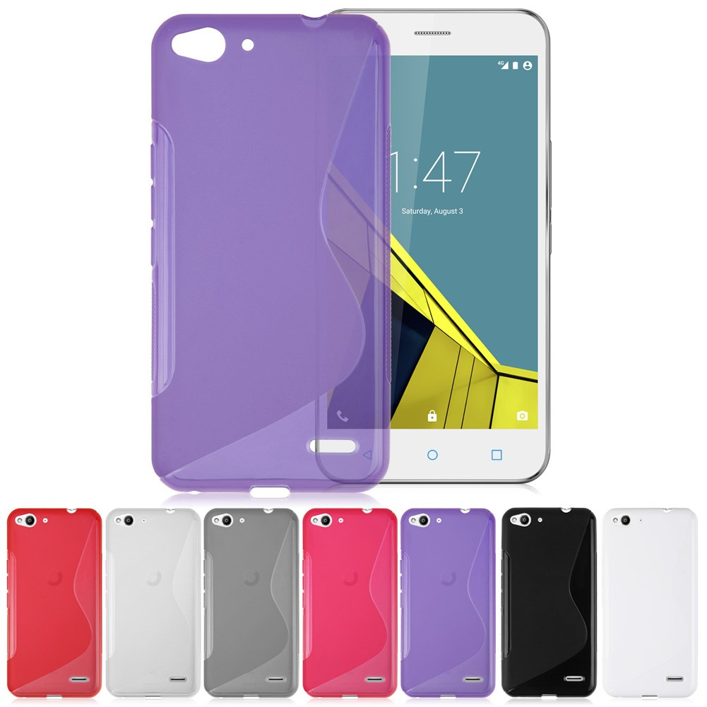Ultra Slim Gel Case Cover for Vodafone Smart Prime 6 & Vodafone Smart Ultra 6