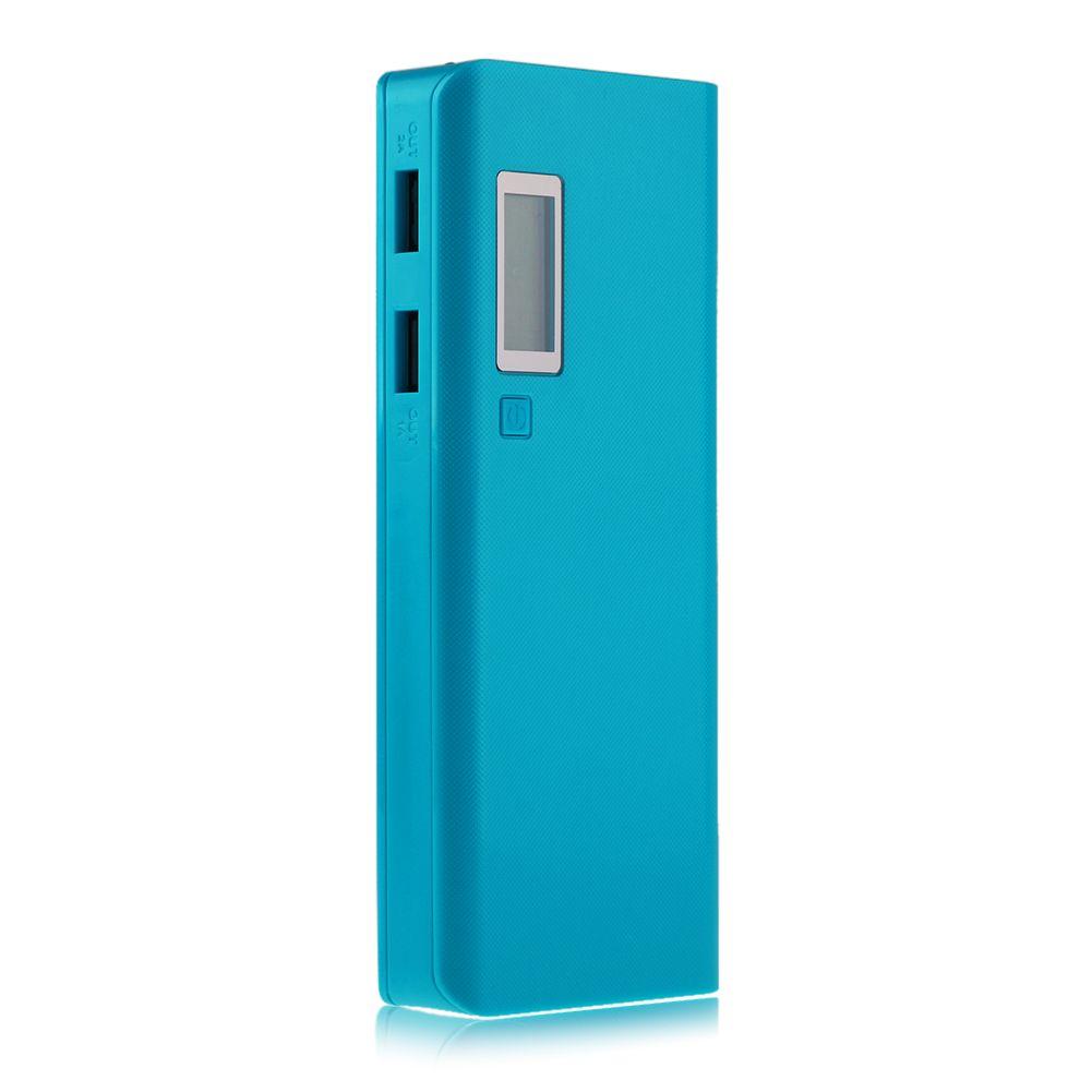 20000mah led chargeur externe usb power bank 5x18650 batterie t l phone diy case ebay. Black Bedroom Furniture Sets. Home Design Ideas