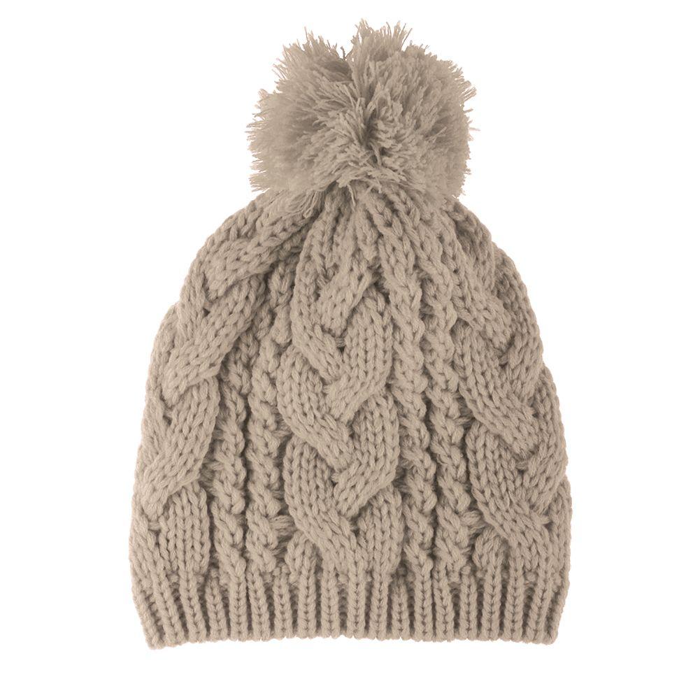 New Fashion Winter Warm Women Men Knit Ski Beanie Ball Wool Cuff Hat Ski Cap