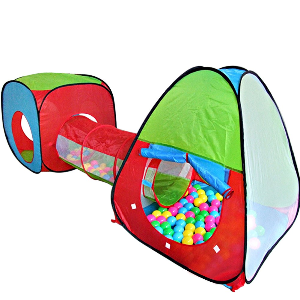 Portable-Folding-Play-Tent-Childrens-Kids-Castle-Cubby-  sc 1 st  eBay & Portable Folding Play Tent Childrens Kids Castle Cubby Playhouse ...