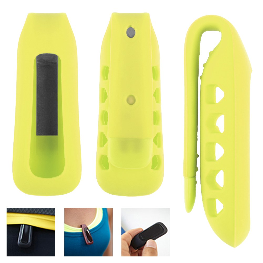silikon armband handschlaufe band armb nder clip case f r fitbit one tracker neu ebay. Black Bedroom Furniture Sets. Home Design Ideas