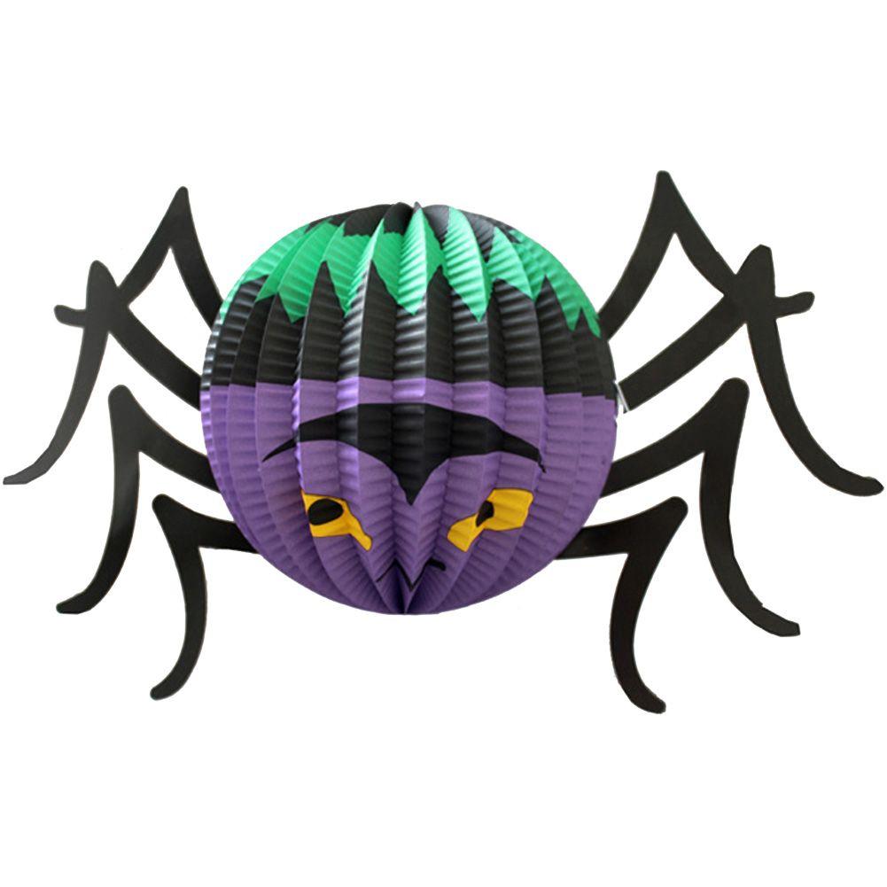 Halloween pipistrello fantasma ragno lanterna carta for Decorazioni halloween finestra