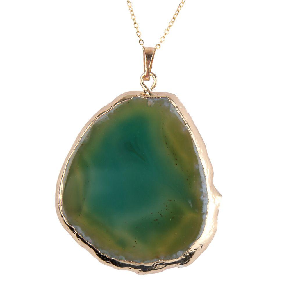 Natural Quartz Stone Pendant
