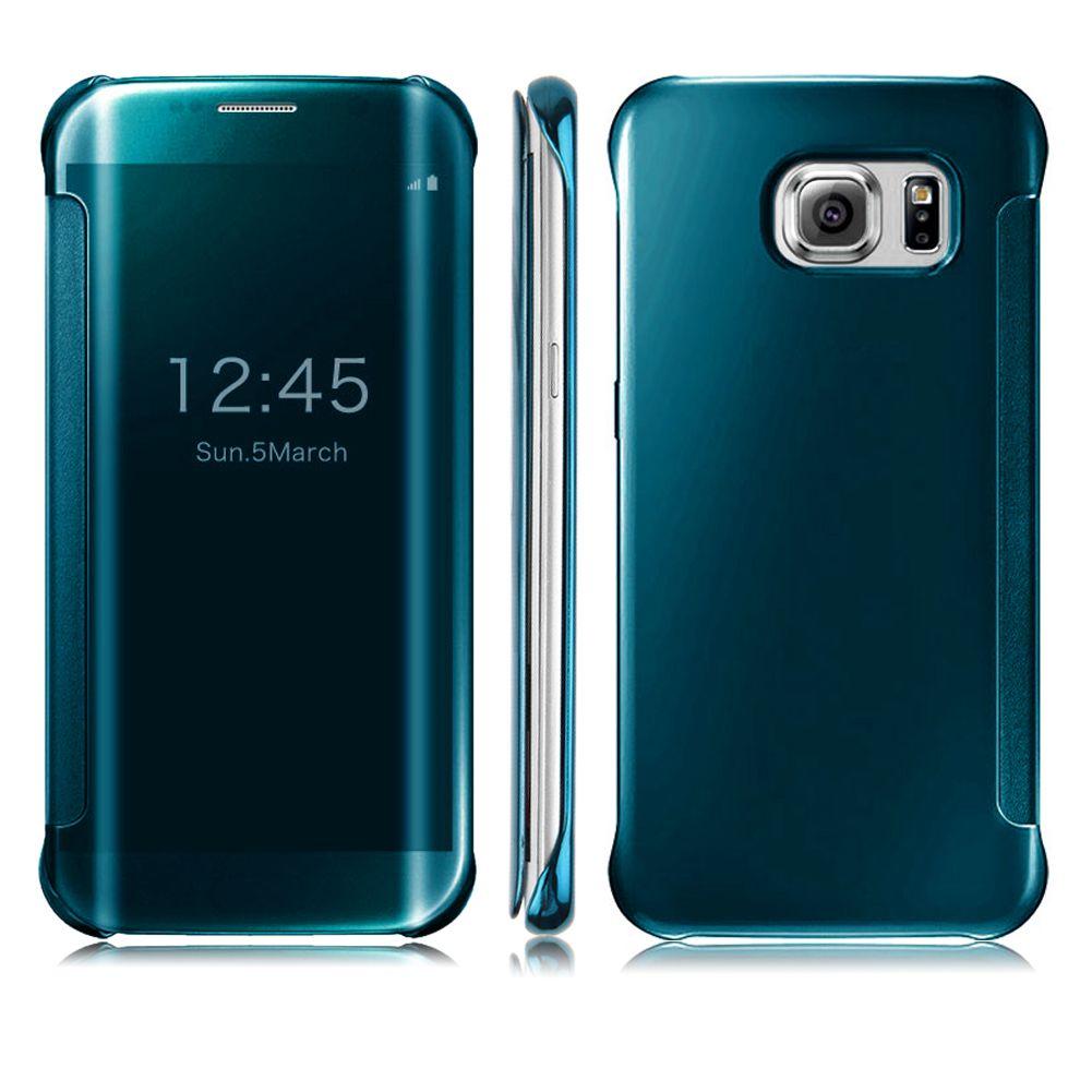 Housse Coque Etui Clear View Smart Cover Miroir Samsung A5