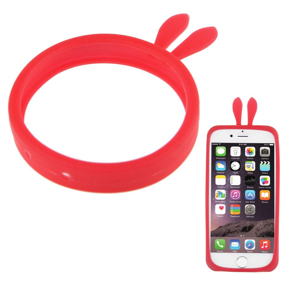 Luminous Soft Silicone Phone Bumper Frame Cover Case Bracelet For Various Phone