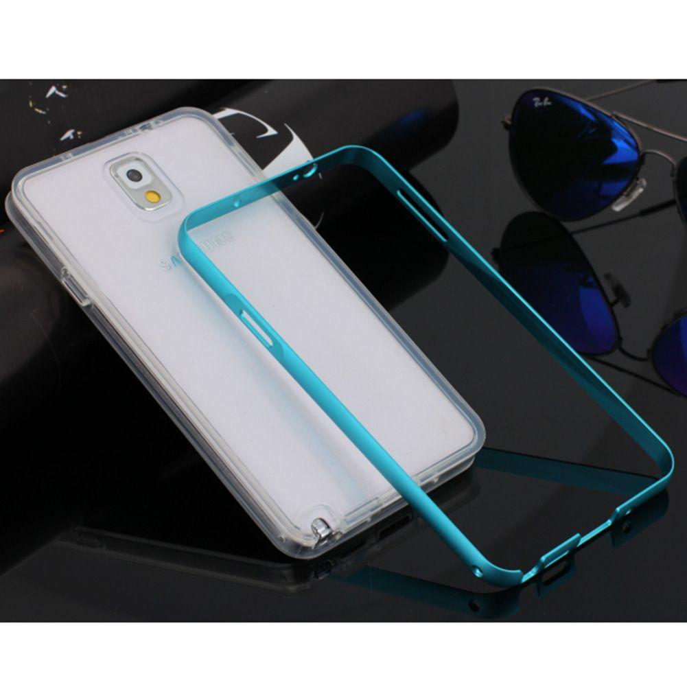 Coque Aluminium Métal Bumper + TPU Silicone Etui Housse Pr Samsung Galaxy/iPhone
