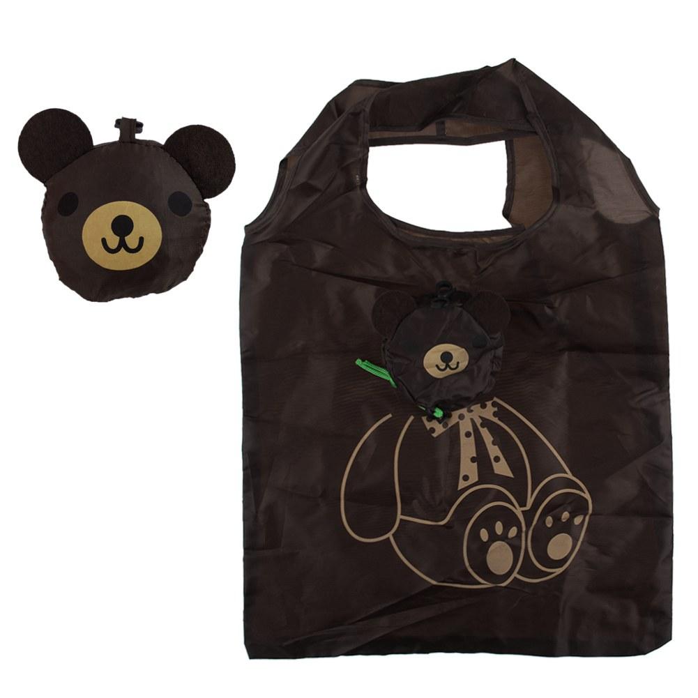Eco Travel Foldable Handbag Grocery Tote Storage Reusable Animal Shopping Bag