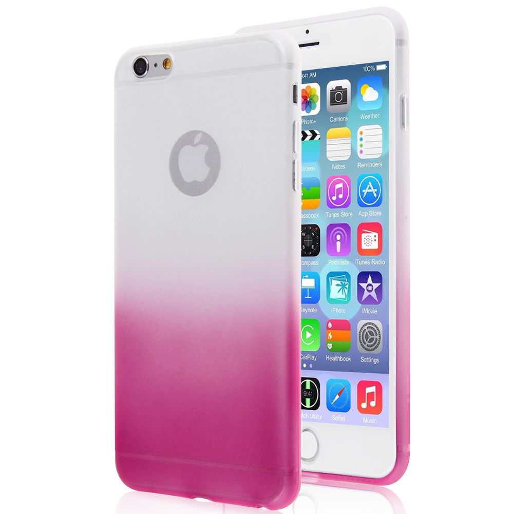 Coques etui housse silicone tpu gel case pour iphone 6 6s for Etui housse iphone 4