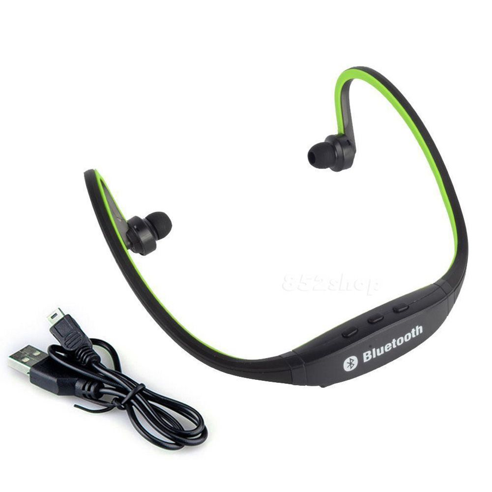 wireless bluetooth headset sports stereo headphones for iphone 6s 6 plus 5 ipad ebay. Black Bedroom Furniture Sets. Home Design Ideas