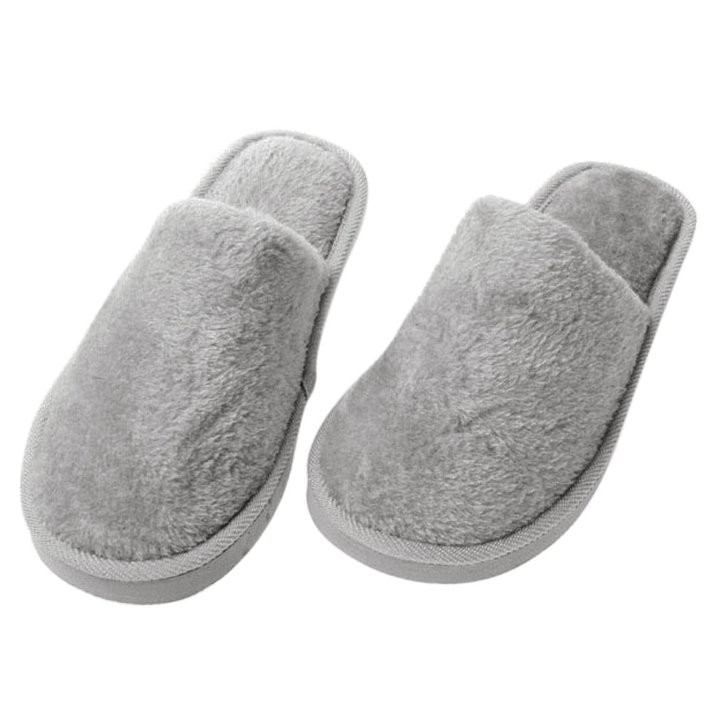 Men And Women Winter Soft Warm Indoor Slippers Unisex Home Slipper Lover Shoes | EBay