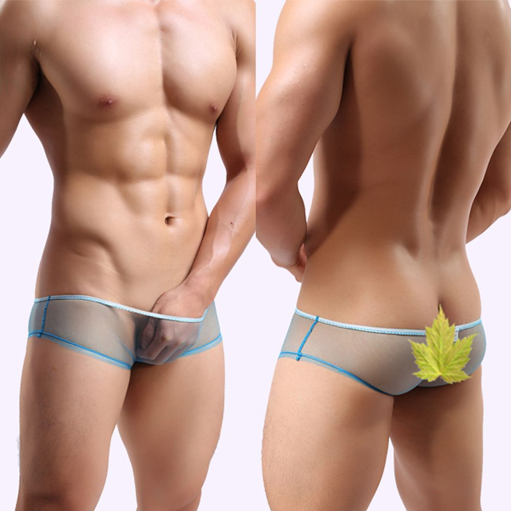 See thru underwear men bikini