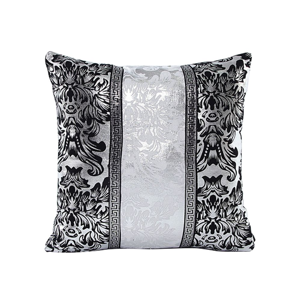 Black Decorative Pillow Cases : New Thick Black White Splice Throw Pillow Case Cushion Cover Sofa Home Decor 18