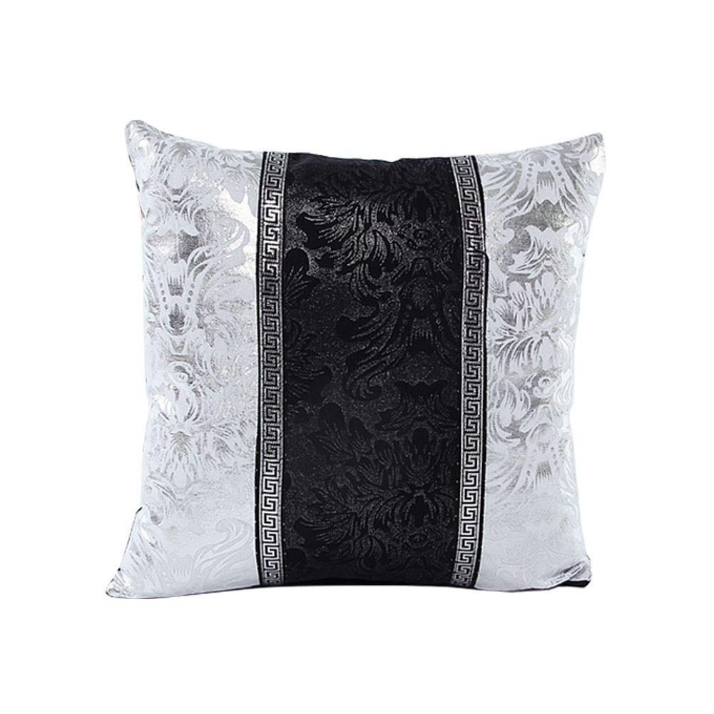 Black Throw Pillows For Sofa : New Thick Black White Splice Throw Pillow Case Cushion Cover Sofa Home Decor 18