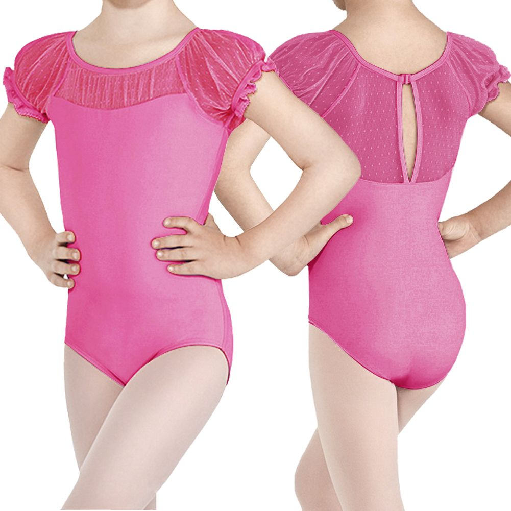 Girls Kids Ballet Dress Leotard Skirt Costumes Dancewear ...