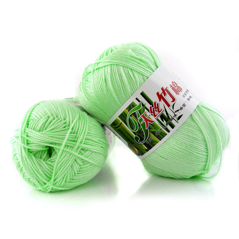 Bamboo Yarn : ... SOFT 100% BAMBOO COTTON KNITTING CROCHET WOOL YARN 50G BALLS 37 COLORS