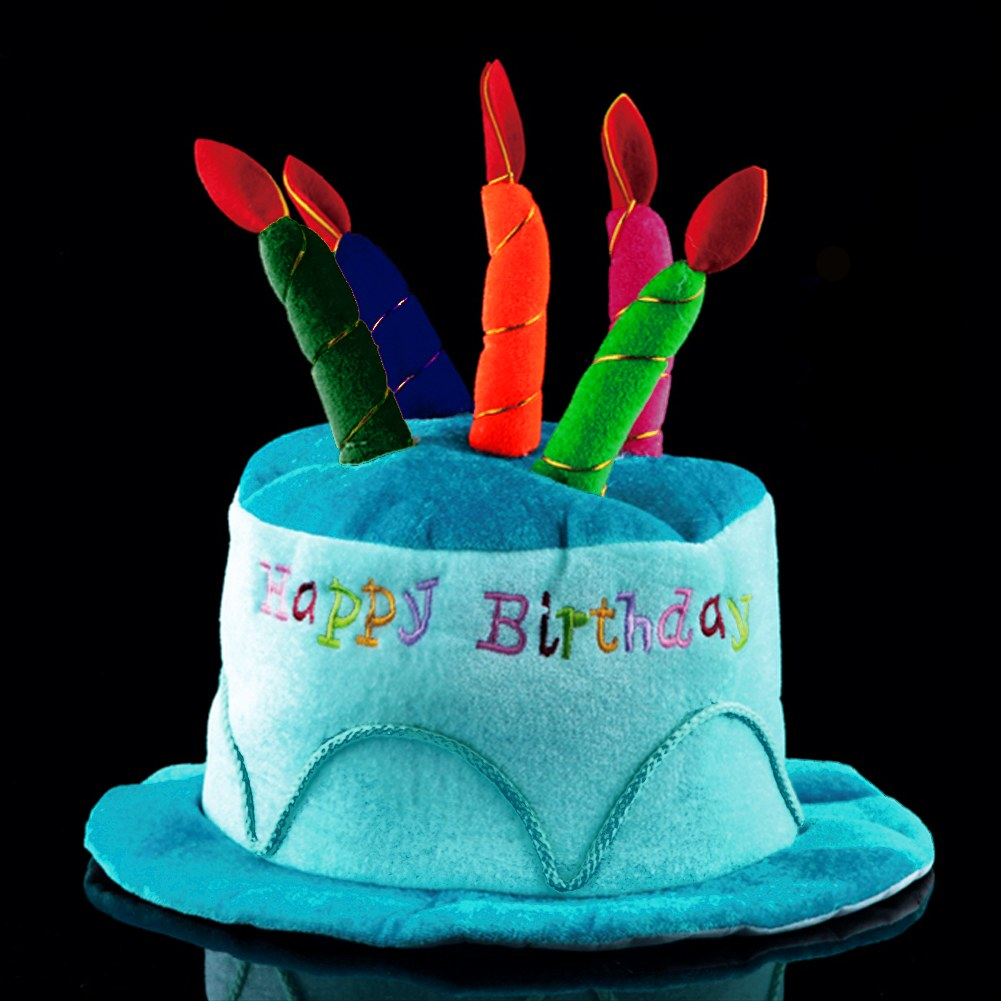Birthday Cake Headband With Candles