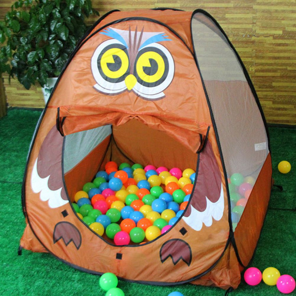 girls boys animal play tent childrens kids ocean balls pit. Black Bedroom Furniture Sets. Home Design Ideas