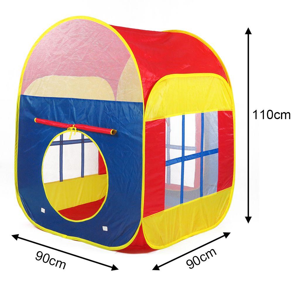 new portable folding pop up play tent childrens kids playhouse paradise playhut ebay. Black Bedroom Furniture Sets. Home Design Ideas