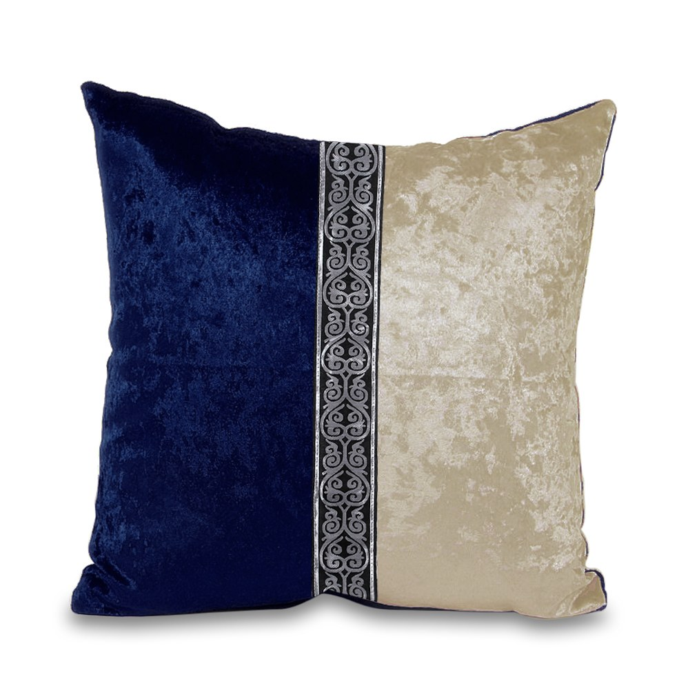 Throw home decorative mirco velvet pillow case cushion for Decorative bed pillow case