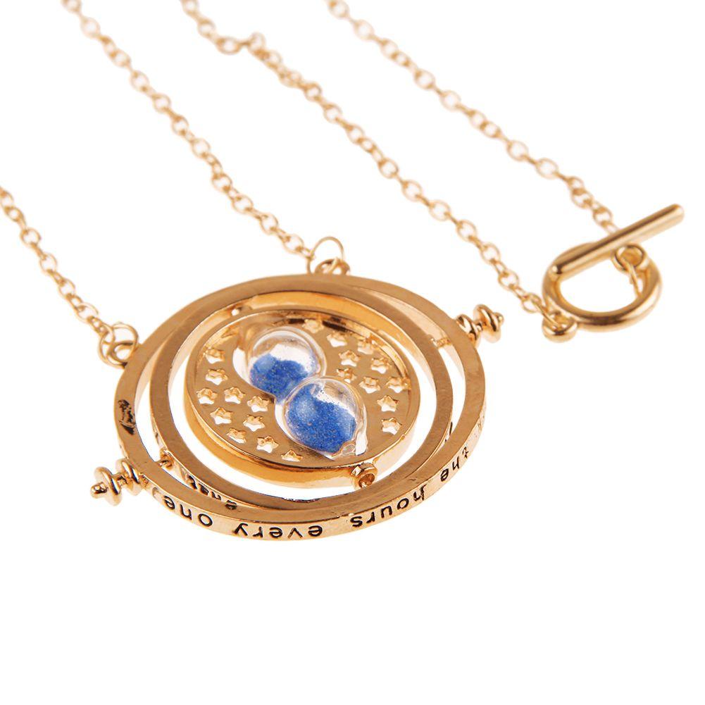 Harry Potter Time Turner Gold Necklace Hermione Granger ...