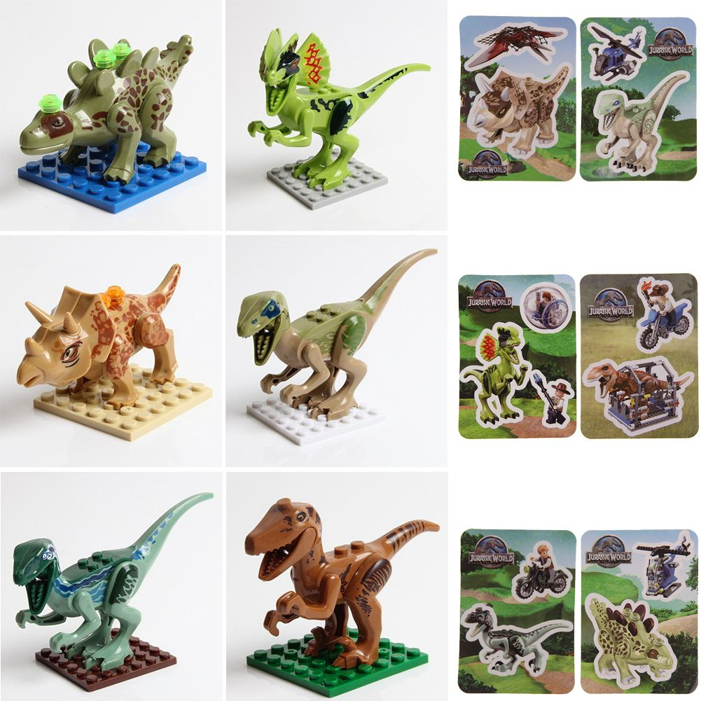 How To Build A Jurassic Park Toy Dinosaur 105