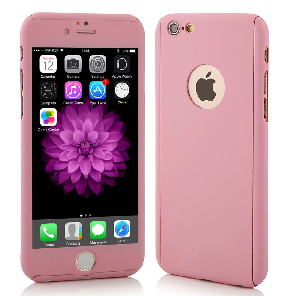 coque 360 rose iphone 6