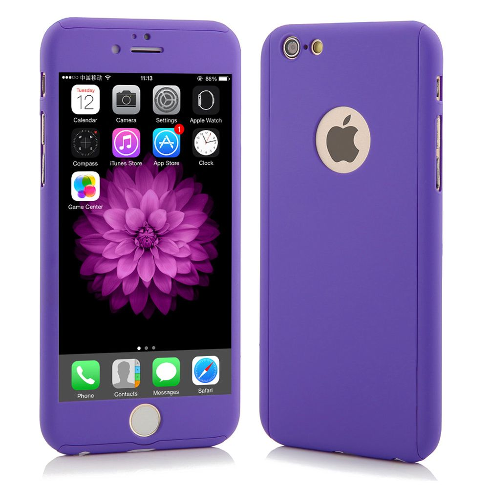 ultra thin 360 full body protective case for iphone 6 6. Black Bedroom Furniture Sets. Home Design Ideas