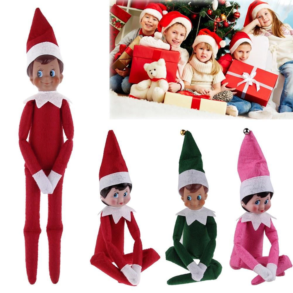 Christmas Elf Toy Doll Santa S Helper 4 Colours On Sale