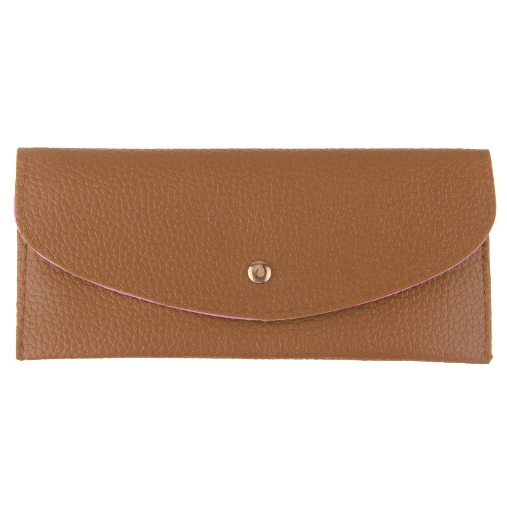 lady women clutch long purse leather wallet card