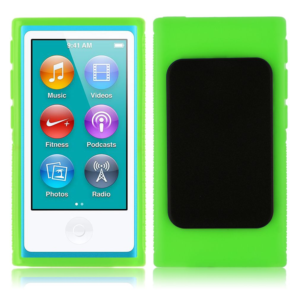 TPU-Funda-Carcasa-Con-Cinturon-Clip-Case-Para-Apple-iPod-Nano-7-7th-Generation