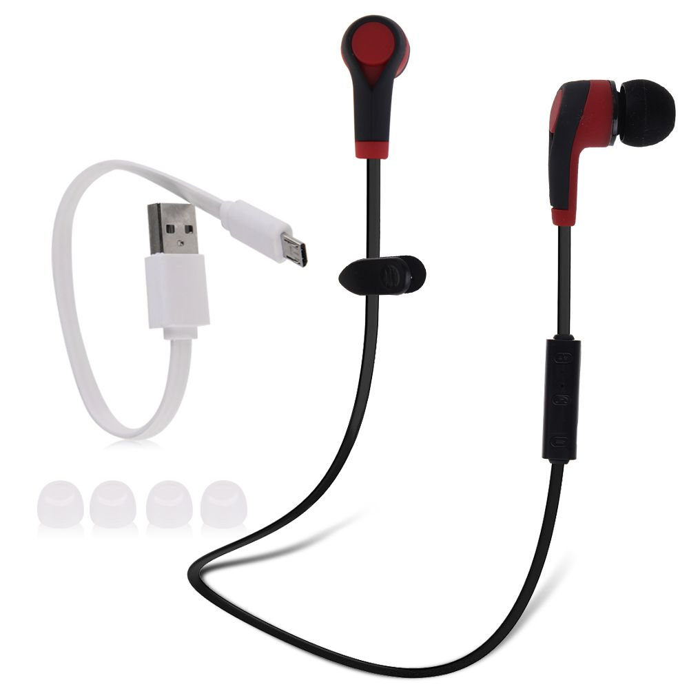Wireless Sport Bluetooth 4.1 Handfree Headset Stereo In Ear Earphone Headphone