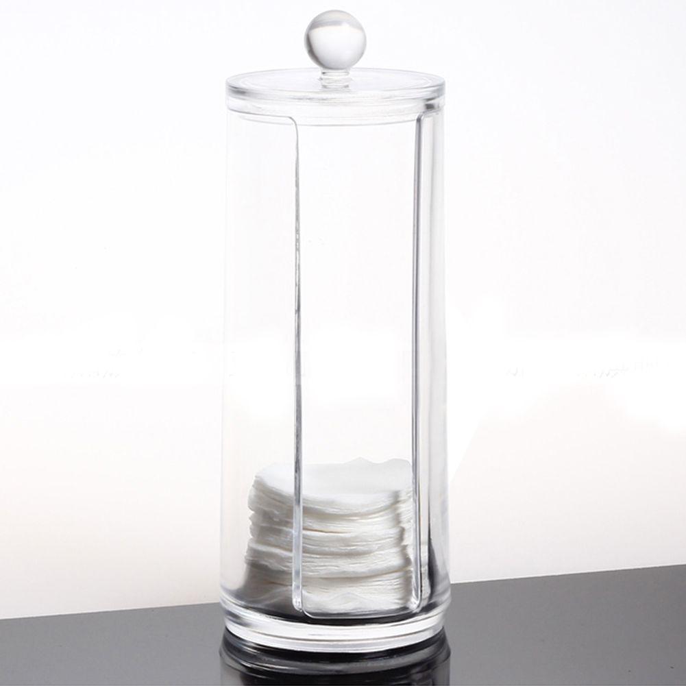 Cosm tique rond acrylique boite maquillage organisateur - Boite de rangement maquillage acrylique ...
