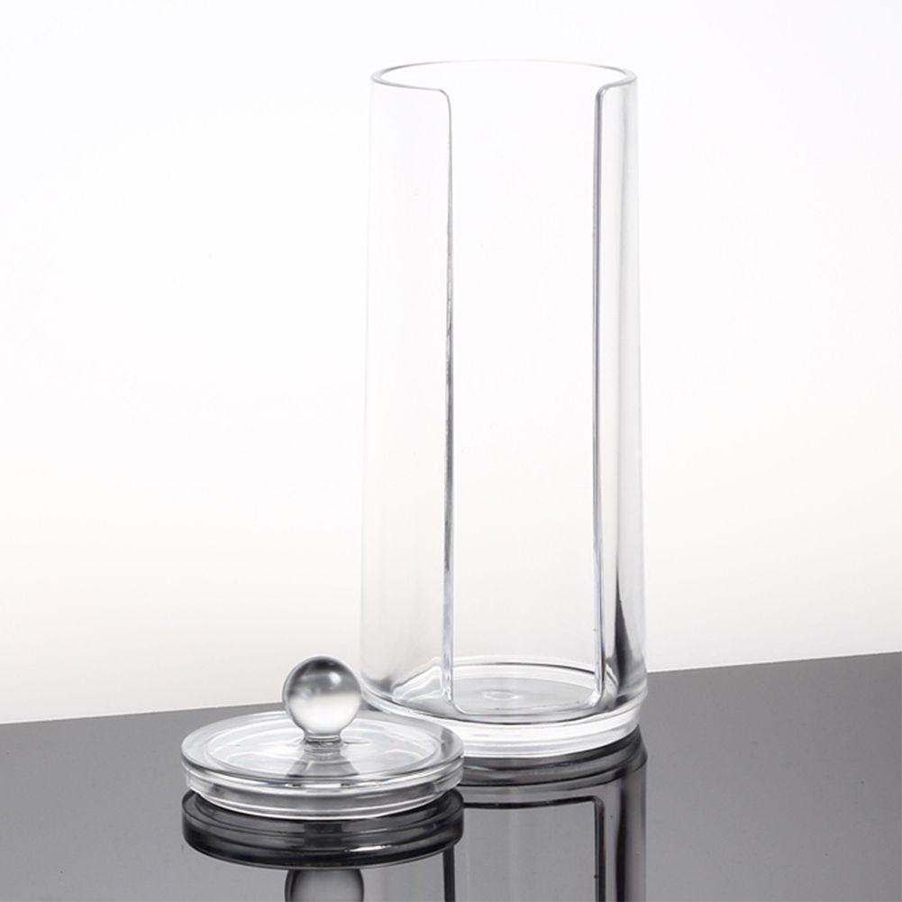Cosm tique rond acrylique boite maquillage organisateur - Rangement maquillage acrylique ...