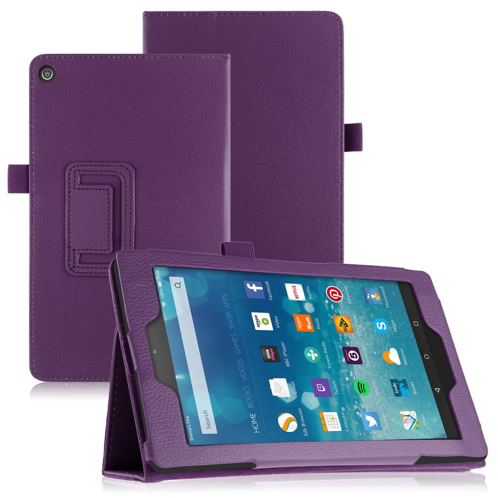 pu leather case cover stand for amazon kindle fire 7 fire