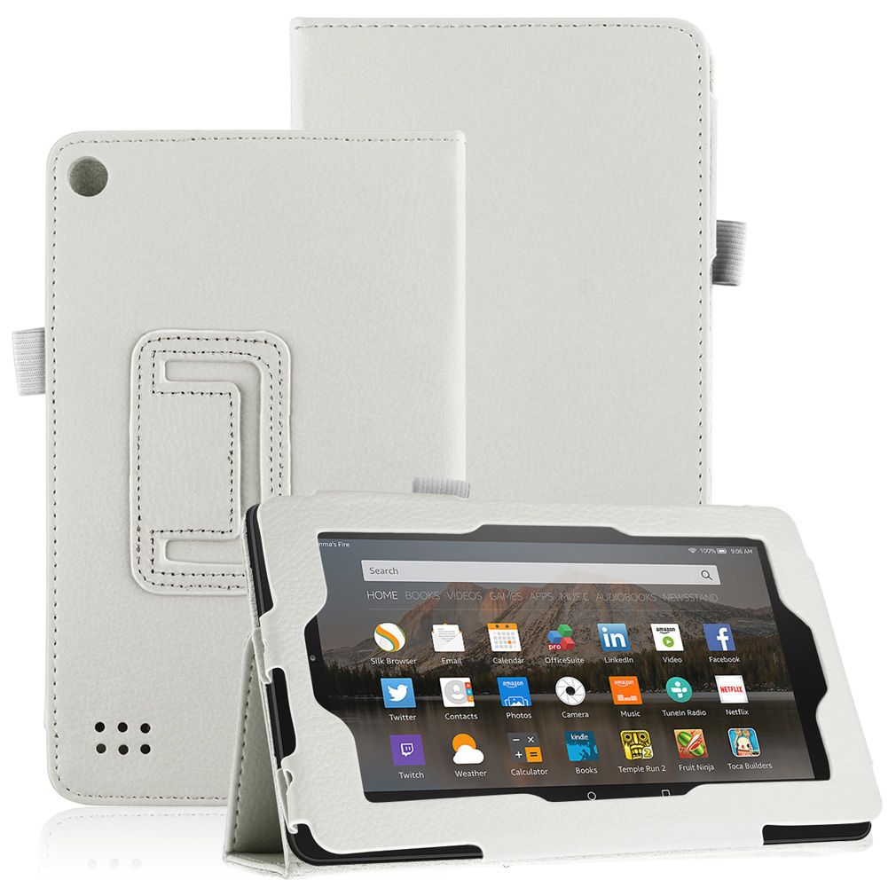 Pu leather case cover stand for amazon kindle fire 7 fire for Casa amazon