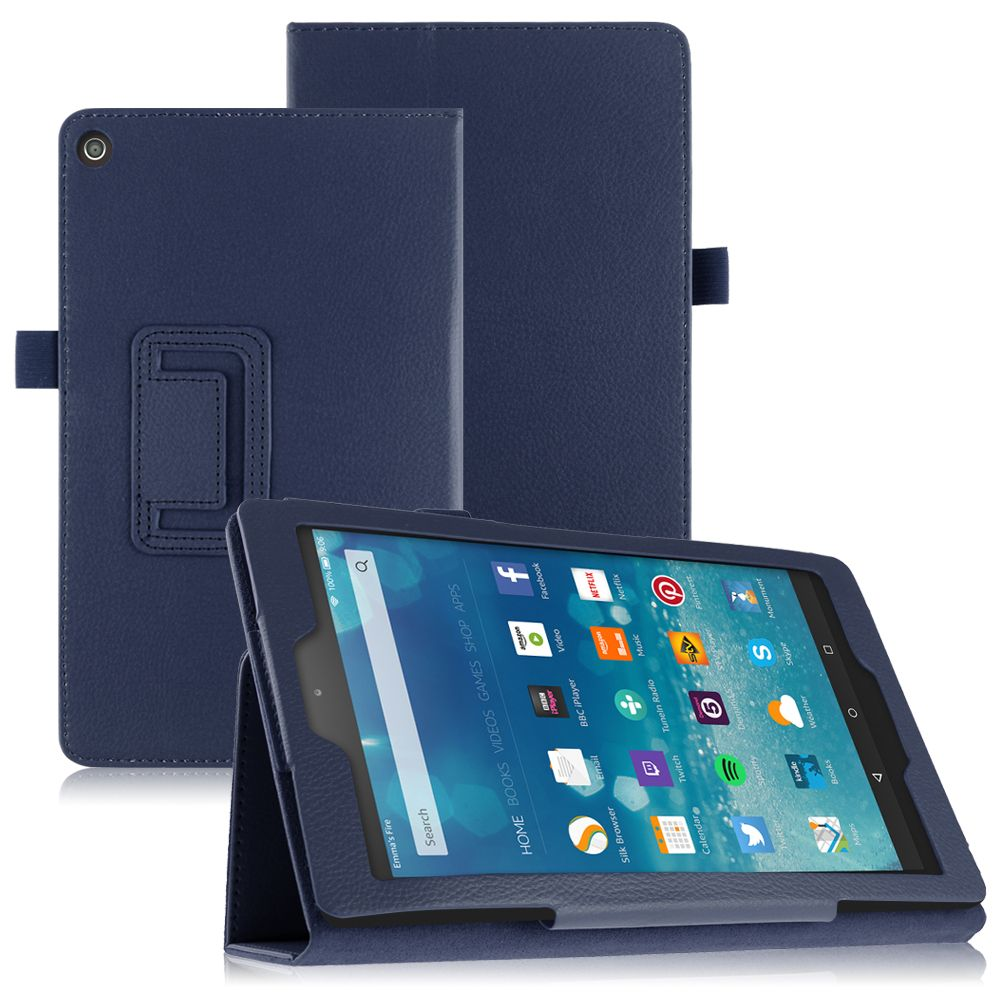 Pu leather case cover stand for amazon kindle fire 7 fire for Amazon casa