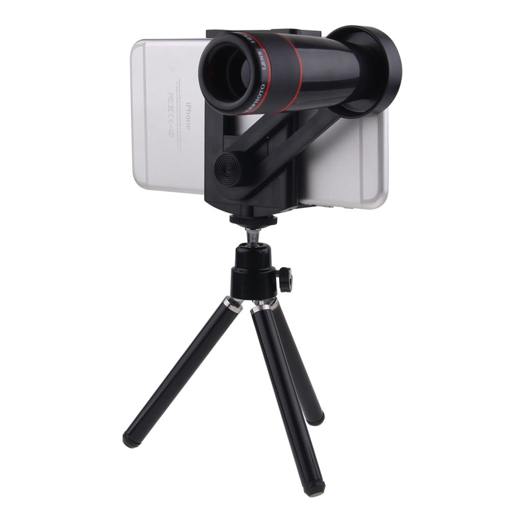 Universal 8x telephoto Zoom Phone Lens Tele Fisheye Wide