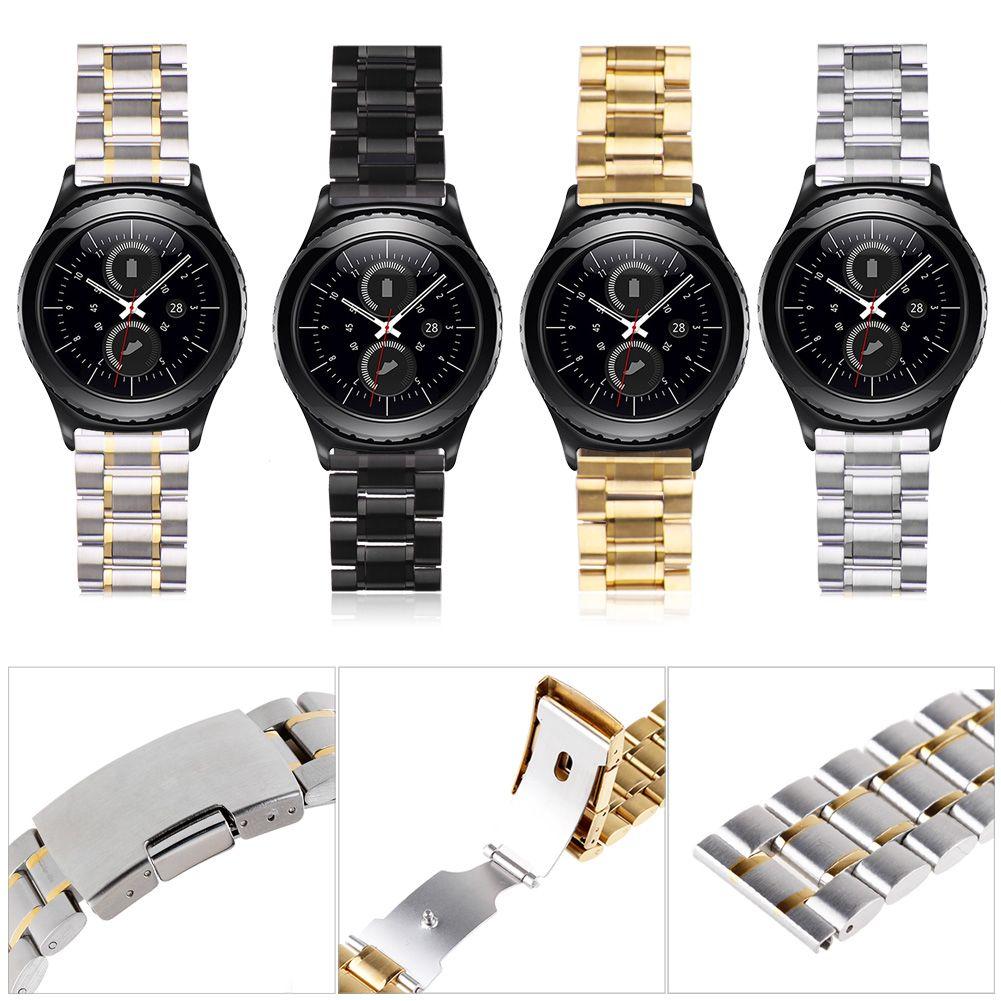 acier lnox montre bande bracelet wristband pour samsung galaxy gear s2 classique ebay. Black Bedroom Furniture Sets. Home Design Ideas