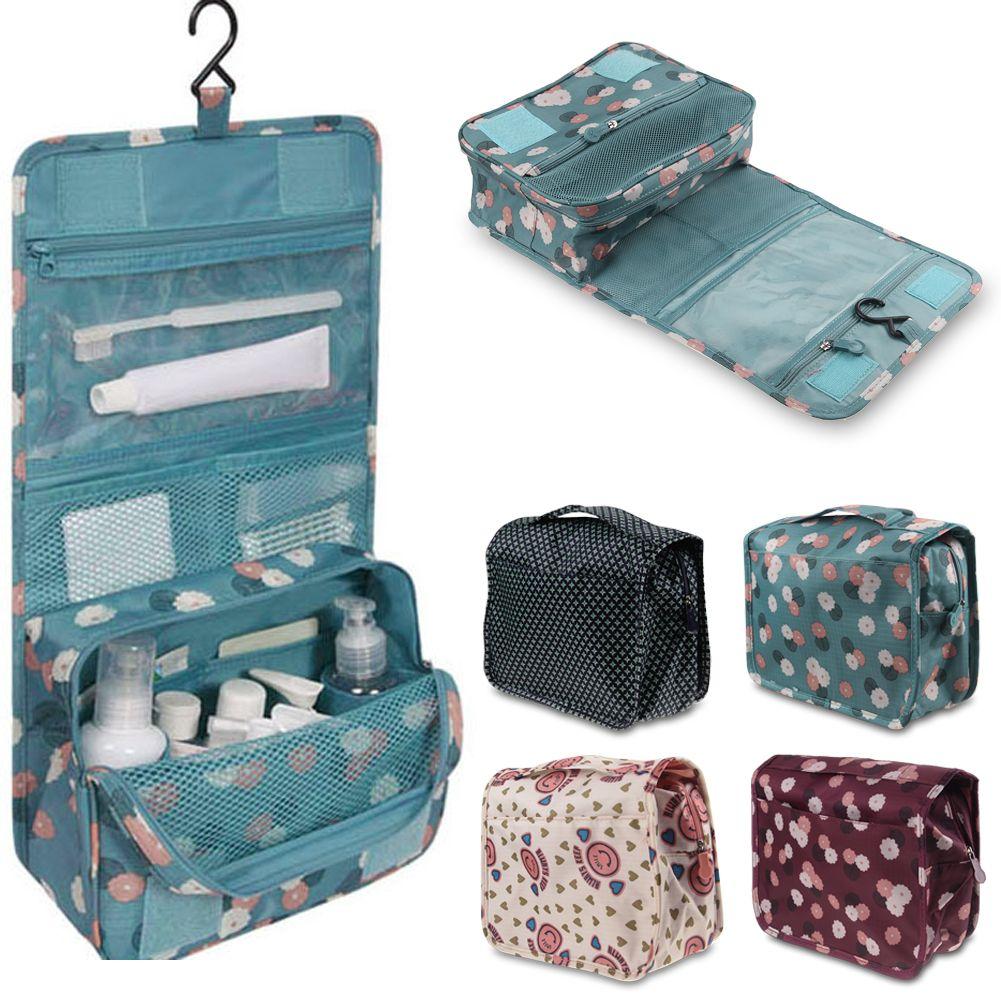Hanging Toiletry Kit Bag Travel Organizer Storage Pack Bathroom Makeup Ebay